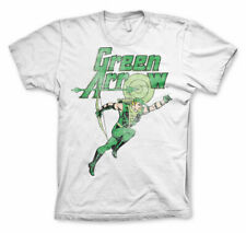 Officially Licensed Green Arrow Distressed Men's T-Shirt S-XXL Sizes