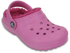 crocs Classic Lined Clog Kids Party Pink / Candy Pink Croslite, Weite: normal C