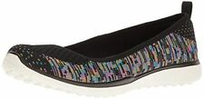 Skechers Mujer Negro Multicolor Microburst made-you-look 23325