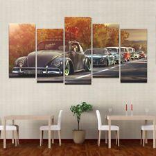 Modern Home Wall Art Decor Frame Pictures HD Prints 5 Pieces Volkswagen Beetle