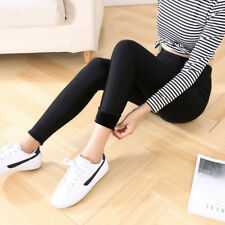 Women Winter Thick Warm Fleece Lined Stretchy Skinny Leggings Pants With LK1