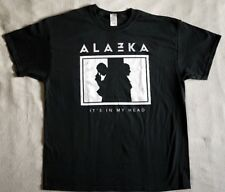 "Alazka T-shirt ""It´s in my head"" black NEW (L,XL)"