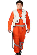 X-wing Poe Dameron Cosplay Fighter pilot Costume Star Wars7 The Force Awakens