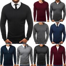 ozonee OUTLET SOLDES Hommes Pull à manches longues pull moulant mélange