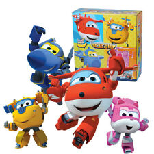 Super Wings Transformation Robot Dizzy Jerome Donnie Jett Paul Game Nuevo