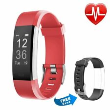 Fitness Tracker HR, Letsfit Activity Tracker with Heart Rate Monitor Watch