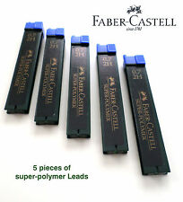 Faber Castell super-Polymer Lead Refills 5 pieces