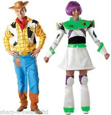 DONNA UOMO COPPIA giocattolo STORY WOODY BUZZ LIGHTYEAR COSTUME COSTUMI, OUTFIT