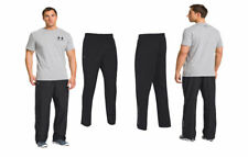 Under Armour Men's UA Vital Woven Warm-Up Track Pants Trousers  BLACK  bnwt.