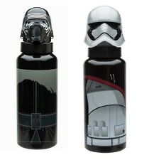 Star Wars 21.5 Ounce Aluminium Water Bottle Kylo Ren or Captain Phasma - New