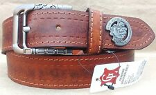 NEW REAL 100% GENUINE LEATHER BROWN BELT FOR MEN'S & FORMAL WEAR Amazing Quali