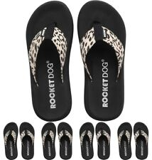 MARCHIO Rocket Dog Womens Hot Trot Spotlight Flip Flops Black UK 3 Euro 36