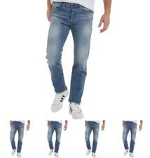"MODA Diesel Mens Buster 0842H Tapered Fit Jeans Blue Wash Waist 26"" Leg 32"""