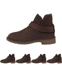 MODA UGG Womens McKay Ankle Boots Chocolate UK 4.5 Euro 37
