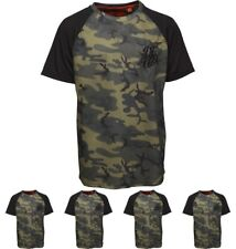 OFFERTA DFND London Boys Sallis T-Shirt Camo Age 5-6 Years 110cm Height Size 5