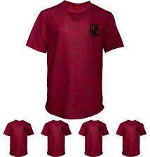 OFFERTA DFND London Boys Wilshaw T-Shirt Burgundy Age 5-6 Years 110cm Height Si