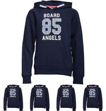 FASHION Board Angels Girls Hoody With Floral 85 Print Navy 5-6 Years 110cm Heig