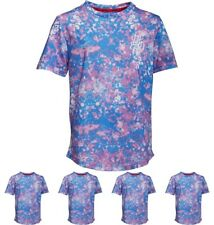 OFFERTA DFND London Boys Artboard Sublimation Print T-Shirt Blue Age 5-6 Years