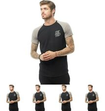 OFFERTA DFND London Mens Anthony Reflective T-Shirt Black X-Small Chest 34-36""