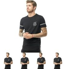 OFFERTA DFND London Mens Marcus Reflective T-Shirt Black X-Small Chest 34-36""