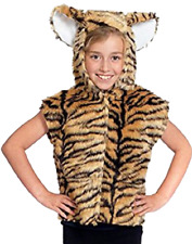 Boys Girls Tiger Animal Zoo Wild Book Week Carnival Fancy Dress Costume Outfit