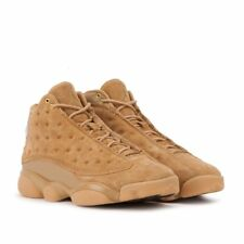 Scarpe uomo NIKE AIR JORDAN RETRO XIII WHEAT in pelle beige 414571-705