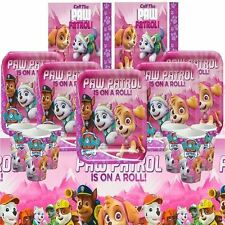 Paw Patrol Girl Pink Birthday Party Kits Sets Tableware Plates Cups Napkins