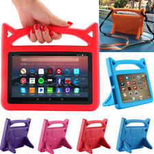 Kids Case Shock Proof Handle EVE Cover For Amazon Fire 7 ALEXA Fire HD 8 2017 UK