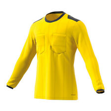 Adidas UCL Referee de manga larga camiseta Amarillo