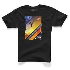 Alpinestars Solaris T-SHIRT COTONE NERA Uomo Freestyle Motocross MX