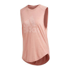 Adidas Winners Músculo Tee Tank Top Mujer Rosa