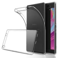 New Ultra Thin Clear Silicone Transparent Gel Case Cover For Sony Xperia Phones