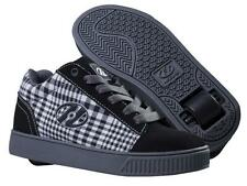 Heelys Straight Up UNO Ruote Nero / Plaid/ Antracite / Bianco roller Pattini