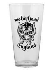 Motorhead England Drinking Glass