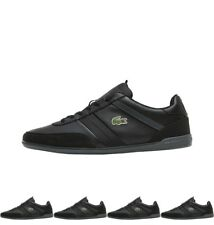BRANDS Lacoste Mens Giron Trainers Black UK 6 Euro 39.5