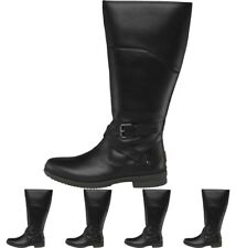 FASHION UGG Womens Evanna Knee High Boots Black UK 3.5 Euro 36