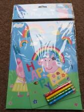 PEPPA PIG COLOURING SETS, PUZZLE, TOYS, CARDS, SOFT TOYS clocks & MORE