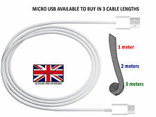 LG K10/K7/K8/K5 - Micro Transferencia De Datos USB CABLE / Fast Wall