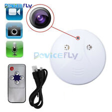 Smoke Detector Card Slot Security DVR Remote HD Camera Motion Detection