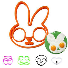 Children Breakfast Egg Mold Silicone Pancake Ring Shaped Kitchen Cooking Tools