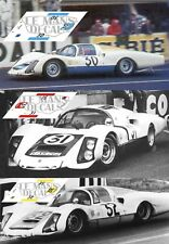 Calcas Porsche 906 Le Mans 1966 30 31 32 1:32 1:43 1:24 1:18 64 87 slot decals