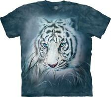 """The Mountain Kinder T-Shirt """"Thoughtful White Tiger"""""""
