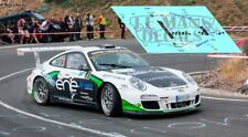 Calcas Porsche 997 Rally Canarias 2015 1:32 1:43 1:24 18 64 87 Fuster decals