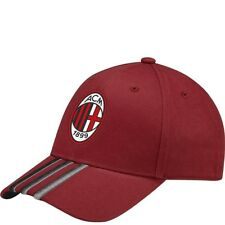Casquette Milan AC Football Rouge Homme Adidas