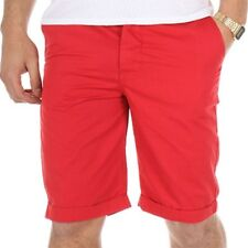 Bermuda chino TOMMY rouge Homme Crossby