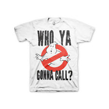 Officially Licensed Ghostbusters Who Ya Gonna Call? Men's T-Shirt S-XXL Sizes