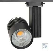 Foco carril CRONOLUX CREE led + TUV driver, negro 30W, RF, Regulable. calido, fr