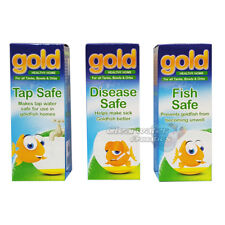 INTERPET GOLD TREATMENT DISEASE TAP FISH SAFE AQUARIUM FISH TANK GOLDFISH HEALTH