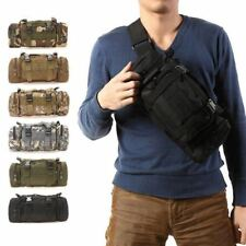 3L Waterproof Military Tactical Waist Bag Outdoor Pack Oxford Molle Camping Pouc