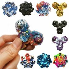 2017 New Tri-Spinner Fidget Toy EDC HandSpinner Anti Stress Reliever And ADAD Ha